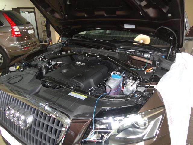 Защита от угона Audi Q5
