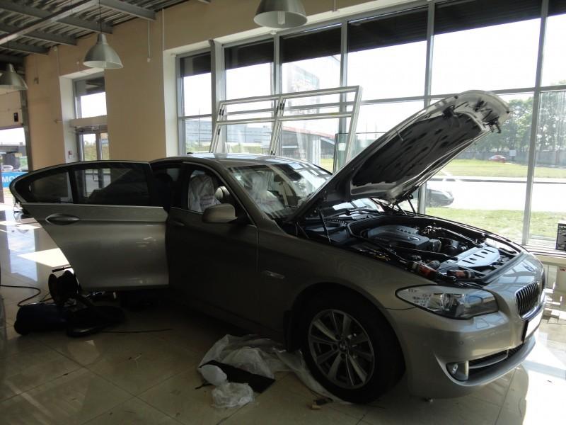 Защита от угона BMW 525