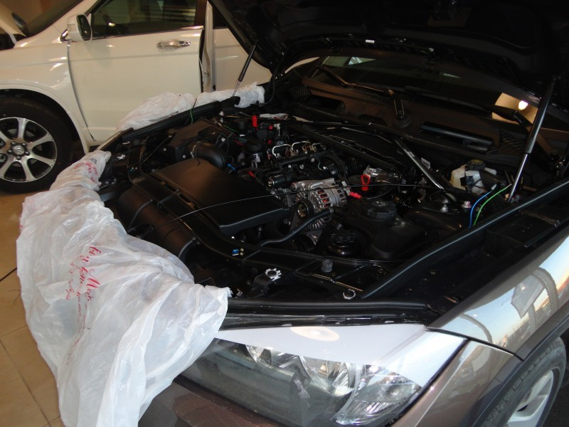 Защита от угона BMW X1