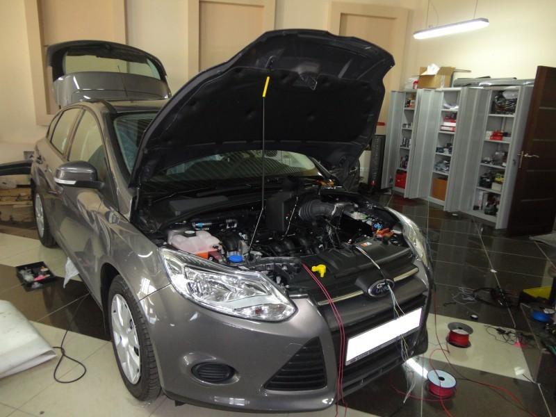 Защита от угона Ford Focus3
