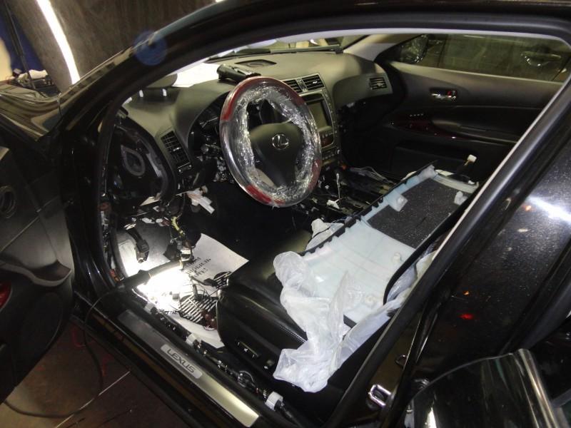 Защита от угона Lexus GS350