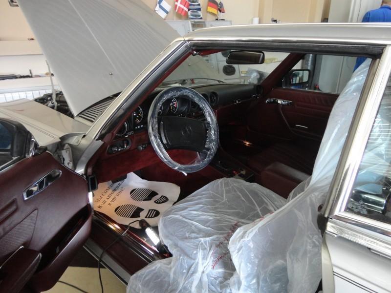Защита от угона Mercedes Benz SLW107