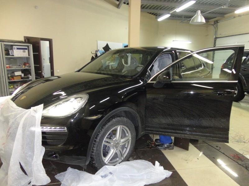 Защита от угона Porsche Cayenne