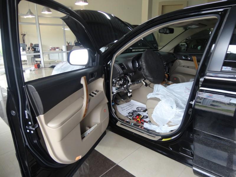 Защита от угона Toyota Highlander