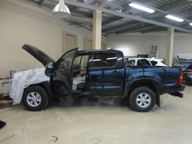 Защита от угона Toyota Hilux