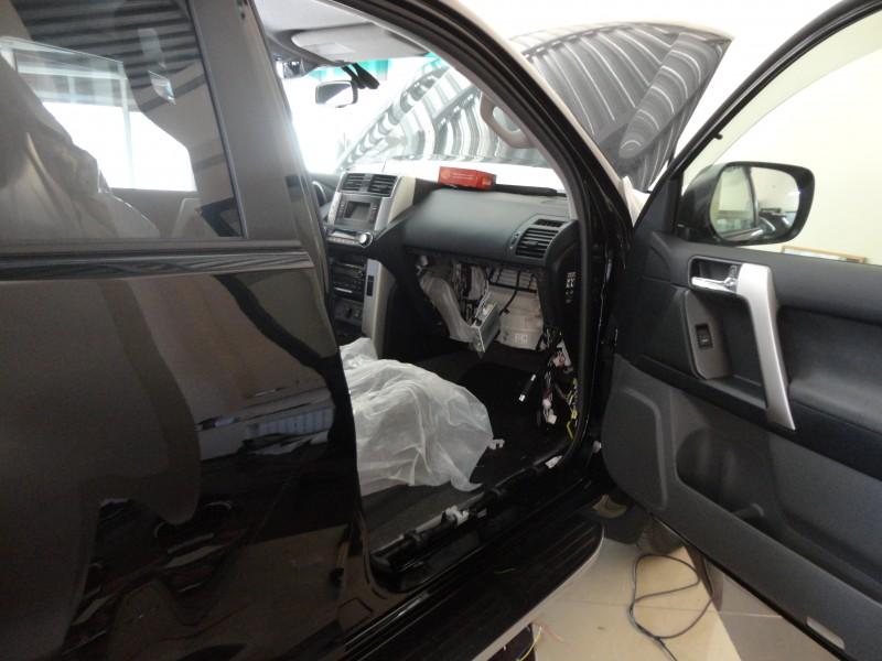 Защита от угона Toyota Prado