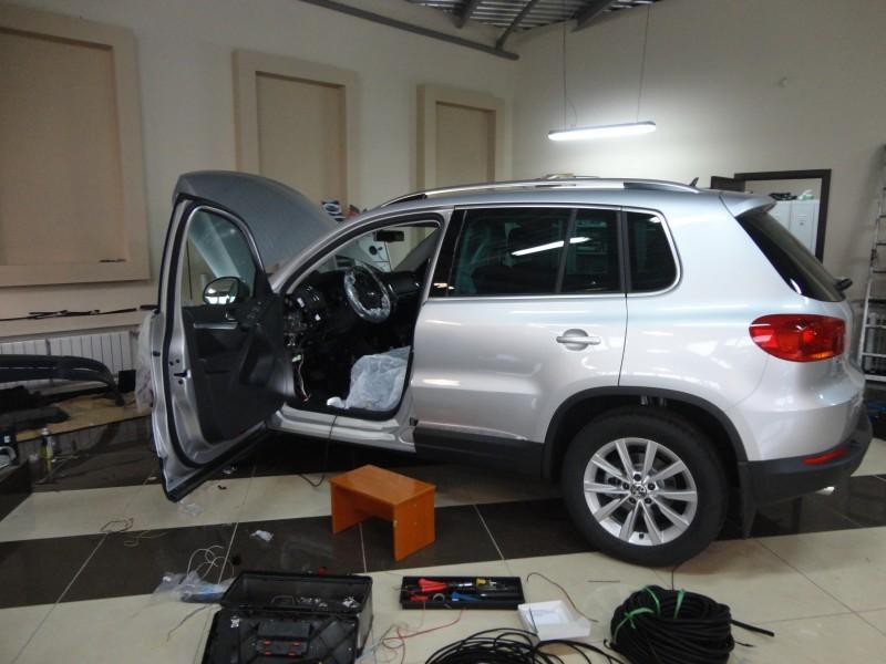 Защита от угона Volkswagen Tiguan